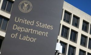 Picture of U.S. Department of Labor Sign
